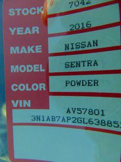 2016 Nissan Sentra SV Nephi, Utah 5