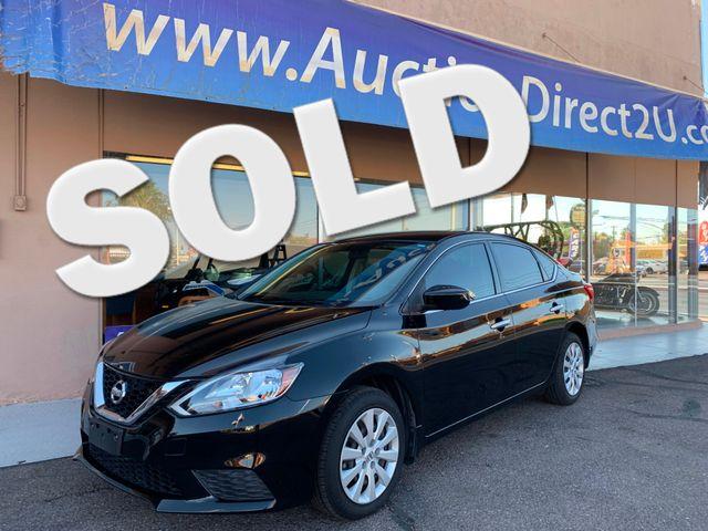 2016 Nissan Sentra S 5 YEAR/60,000 MILE FACTORY POWERTRAIN WARRANTY Mesa, Arizona