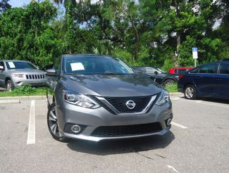 2016 Nissan Sentra SL LEATHER. NAVIGATION. HTD SEATS. BLIND SPOT SEFFNER, Florida 10