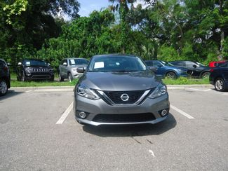 2016 Nissan Sentra SL LEATHER. NAVIGATION. HTD SEATS. BLIND SPOT SEFFNER, Florida 11