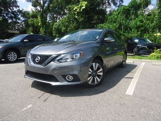 2016 Nissan Sentra SL LEATHER. NAVIGATION. HTD SEATS. BLIND SPOT SEFFNER, Florida 5