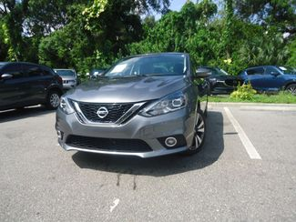 2016 Nissan Sentra SL LEATHER. NAVIGATION. HTD SEATS. BLIND SPOT SEFFNER, Florida 6