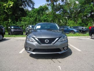 2016 Nissan Sentra SL LEATHER. NAVIGATION. HTD SEATS. BLIND SPOT SEFFNER, Florida 7