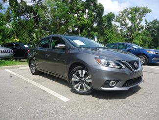 2016 Nissan Sentra SL LEATHER. NAVIGATION. HTD SEATS. BLIND SPOT SEFFNER, Florida 8