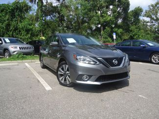 2016 Nissan Sentra SL LEATHER. NAVIGATION. HTD SEATS. BLIND SPOT SEFFNER, Florida 9