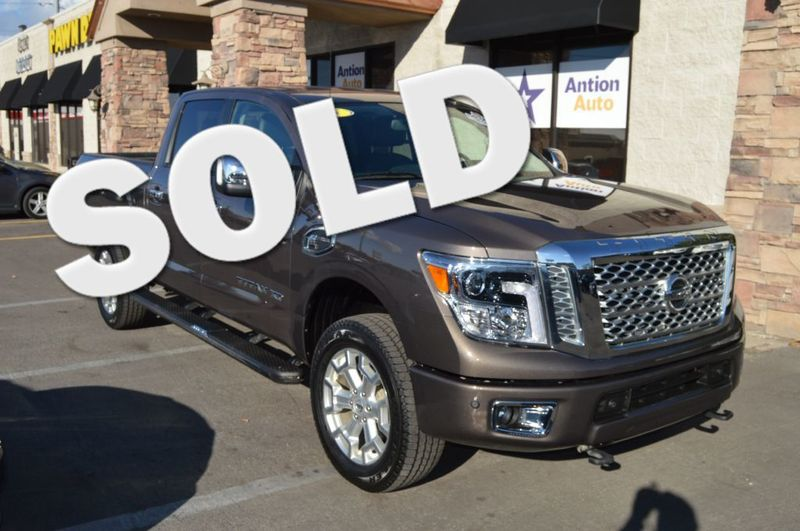 2016 Nissan Titan XD SL | Bountiful, UT | Antion Auto in Bountiful UT