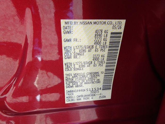 2016 Nissan Titan XD PRO-4X Madison, NC 55