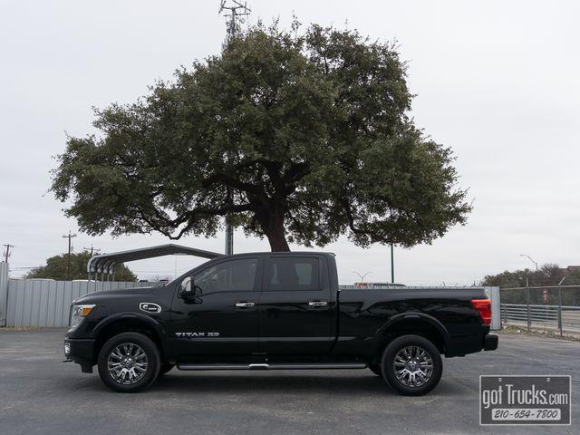 2016 Nissan Titan XD Crew Cab Platinum Reserve 5.0L Cummins Diesel 4X4