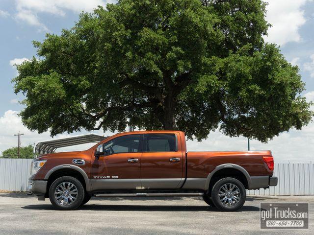 2016 Nissan Titan XD Crew Cab Platinum Reserve 5.0L Cummins Diesel