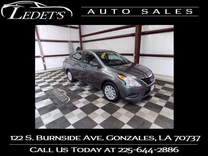 2016 Nissan Versa SV - Ledet's Auto Sales Gonzales_state_zip in Gonzales Louisiana