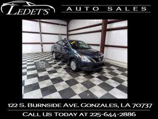 2016 Nissan Versa S - Ledet's Auto Sales Gonzales_state_zip in Gonzales