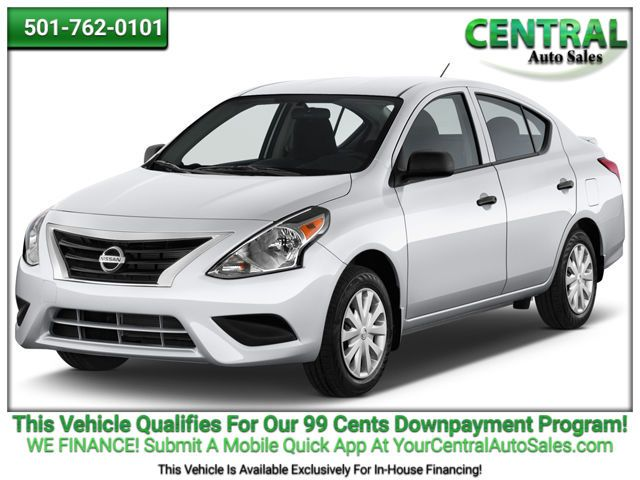 2016 Nissan VERSA  | Hot Springs, AR | Central Auto Sales in Hot Springs AR