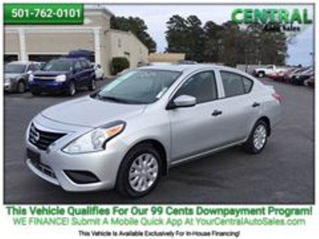 2016 Nissan Versa S Plus   Hot Springs, AR   Central Auto Sales in Hot Springs AR