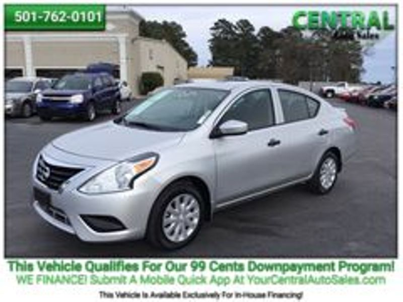 2016 Nissan Versa S Plus | Hot Springs, AR | Central Auto Sales in Hot Springs AR