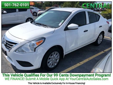 2016 Nissan Versa S | Hot Springs, AR | Central Auto Sales in Hot Springs, AR