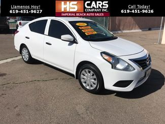 2016 Nissan Versa SV Imperial Beach, California