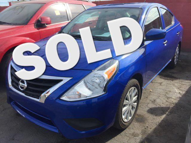 2016 Nissan Versa S Plus AUTOWORLD (702) 452-8488 Las Vegas, Nevada