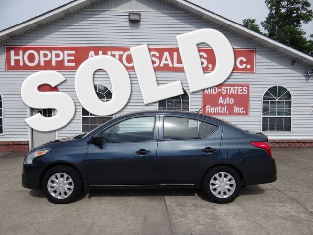 2016 Nissan Versa S | Paragould, Arkansas | Hoppe Auto Sales, Inc. in  Arkansas