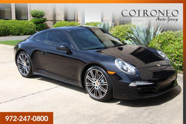 2016 Porsche 911 Carrera 4 Black Edition Coupe