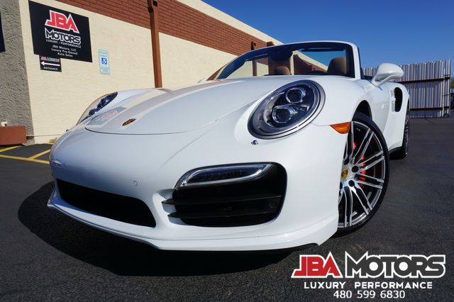 2016 Porsche 911 Turbo Cabriolet Convertible AWD Carrera $181k MSRP