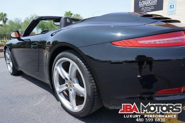 2016 Porsche 911 Carrera Black Edition Cabriolet Convertible 991 in Mesa, AZ 85202