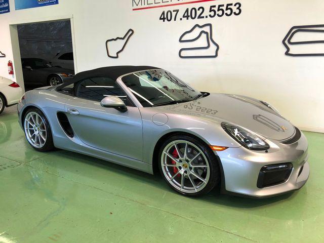 2016 Porsche Boxster Spyder Longwood, FL 38