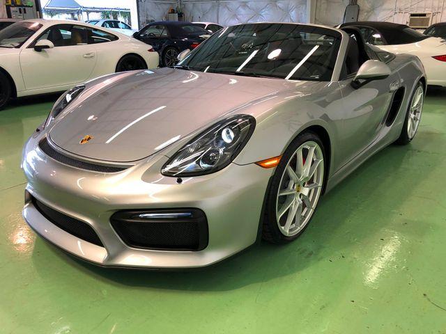 2016 Porsche Boxster Spyder Longwood, FL 4