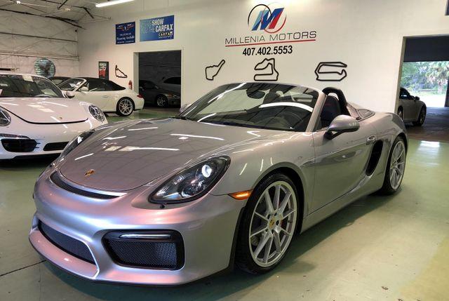 2016 Porsche Boxster Spyder Longwood, FL 49