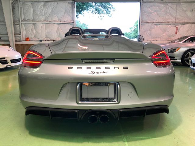 2016 Porsche Boxster Spyder Longwood, FL 51