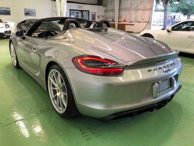 2016 Porsche Boxster Spyder Longwood, FL 6