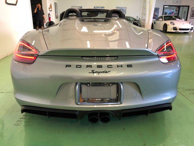 2016 Porsche Boxster Spyder Longwood, FL 8