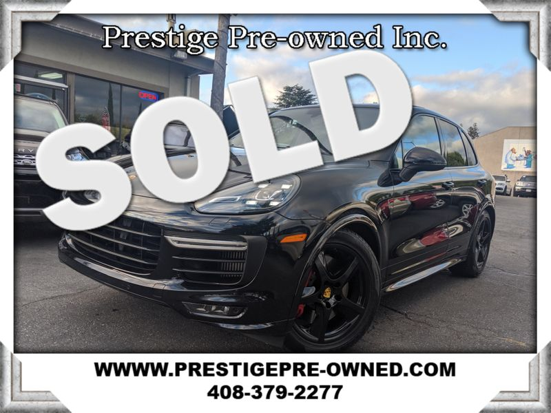 2016 Porsche CAYENNE GTS ((**440HP**))--((**ORIGINAL MSRP $106,965**))  in Campbell CA