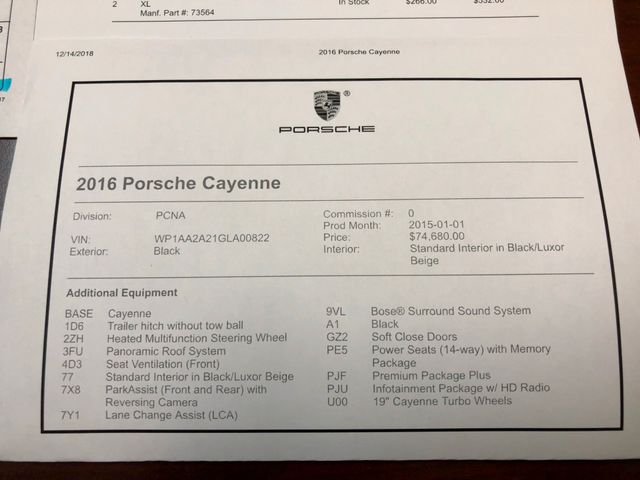 2016 Porsche Cayenne Longwood, FL 44