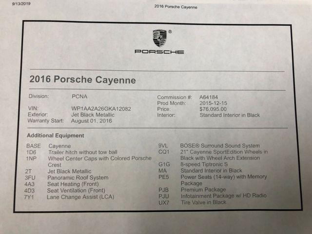 2016 Porsche Cayenne Longwood, FL 54