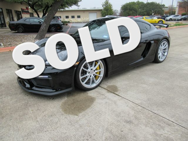 2016 Porsche Cayman GT4 Austin , Texas 0