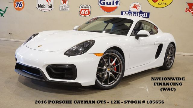 2016 Porsche Cayman GTS 6 SPD,BOSE,LEATHER,20IN WHLS,12K,WE FINANCE