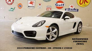 2016 Porsche Cayman AUTOMATIC,NAV,HEATED LEATHER,2K,WE FINANCE in Carrollton, TX 75006