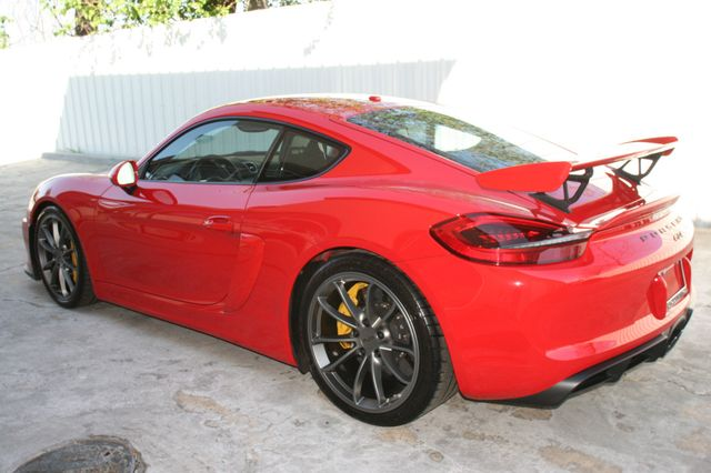 2016 Porsche Cayman GT4 Houston, Texas 4