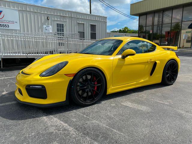 2016 Porsche Cayman GT4 Longwood, FL 15