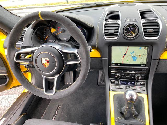 2016 Porsche Cayman GT4 Longwood, FL 21