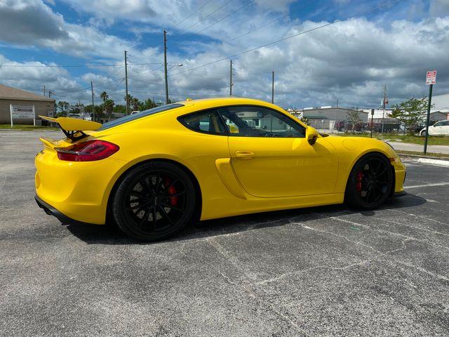 2016 Porsche Cayman GT4 Longwood, FL 7