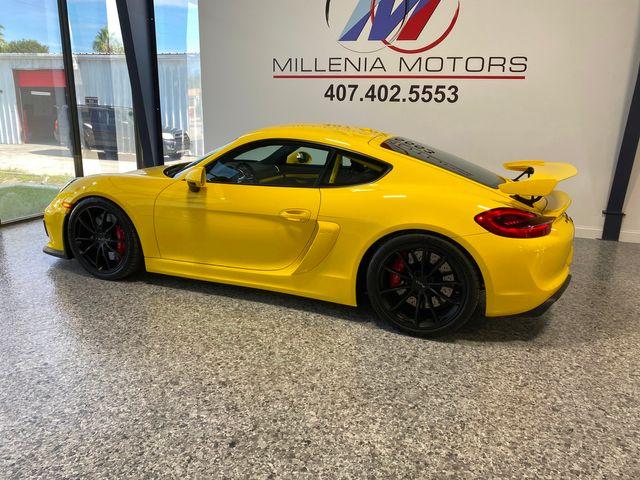 2016 Porsche Cayman GT4 Longwood, FL 1