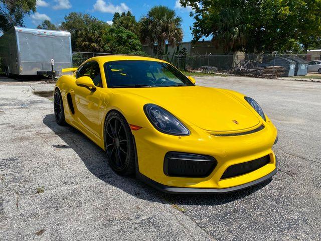 2016 Porsche Cayman GT4 Longwood, FL 55