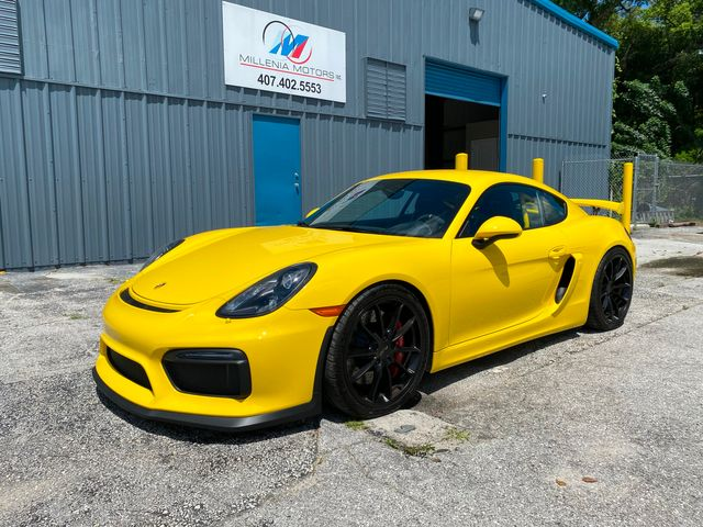 2016 Porsche Cayman GT4 Longwood, FL 59