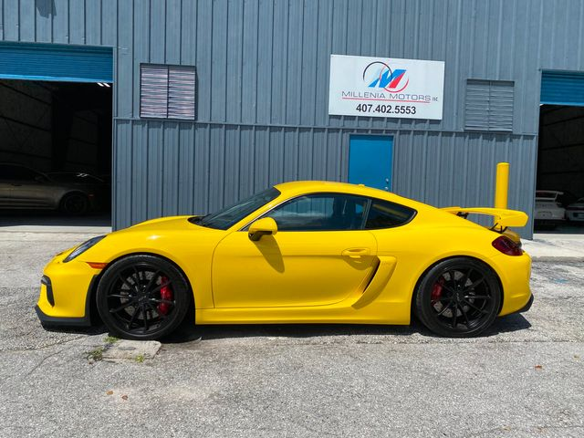 2016 Porsche Cayman GT4 Longwood, FL 61
