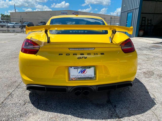 2016 Porsche Cayman GT4 Longwood, FL 48