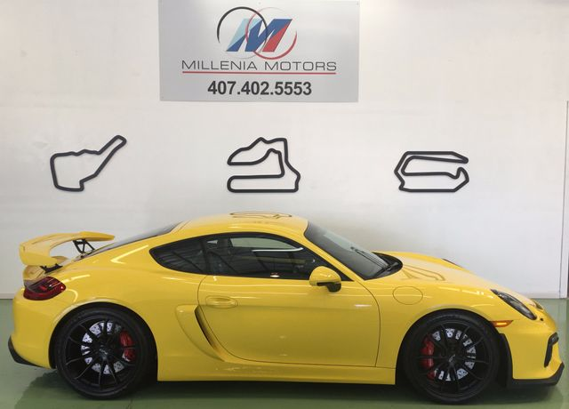 2016 Porsche Cayman GT4 Longwood, FL 11