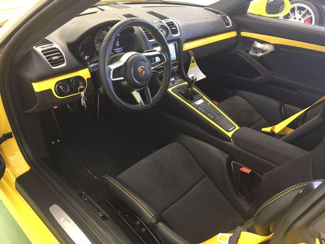 2016 Porsche Cayman GT4 Longwood, FL 13