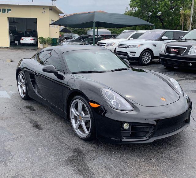 2016 Porsche Cayman Black Edition Longwood, FL 2