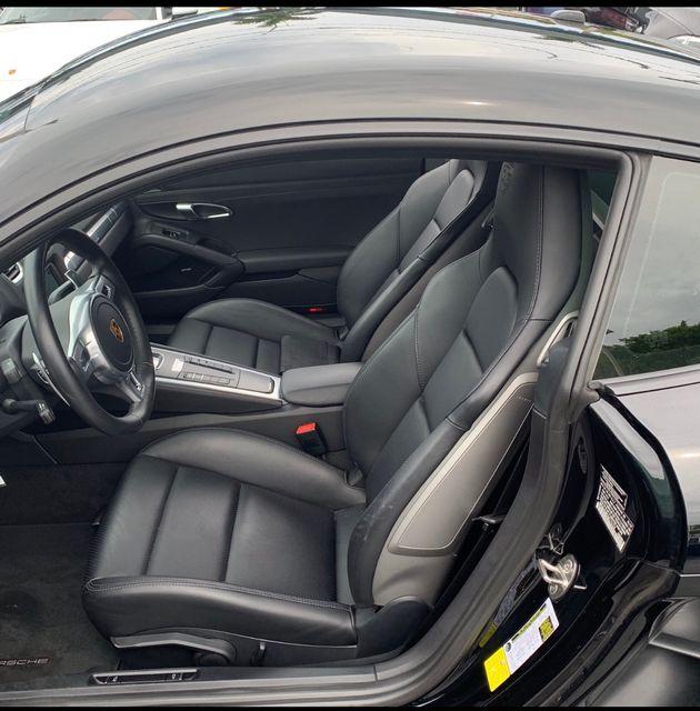 2016 Porsche Cayman Black Edition Longwood, FL 4